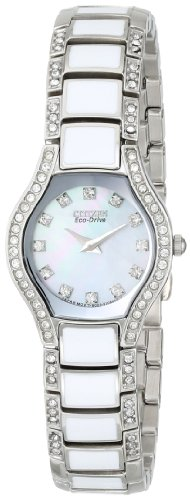 Citizen Women's Eco-Drive Crystal Accented Watch, EW9870-81D