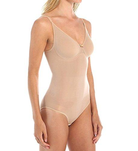 Body Wrap Women's Bodysuit,Nude,Large