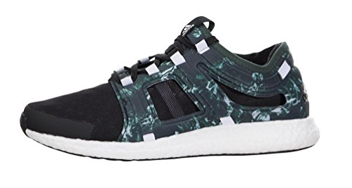 adidas Negro de Running Hombre para Material Verde de Zapatillas Negro Sintético qrFUnqzx