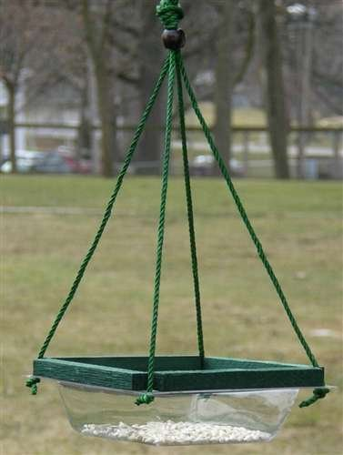Hanging Mealworm Dish Feeder Songbird Essentials