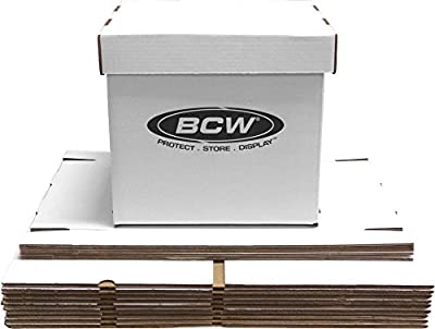 20 BCW 33 RPM Album Storage Boxes