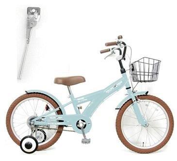 【片足スタンドセット】子供用自転車 16インチ ROLLING RINGS BMXタイプ 子ども用自転車 キッズ 幼児車 ローリ 男の子 女の子 B01N4C24RKライトブルー
