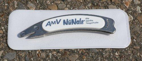 NuNale Saphir-Formfeile - Nagelfeile mit Etui ca. 10cm