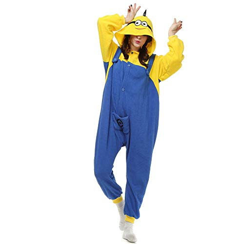 Cattoon Onesie Adult Cosplay Animal Costume Pajamas Sleepwear