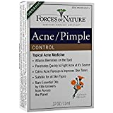 Forces of Nature | Acne Control | Certified Organic | FDA-registered | Pharmaceutical Strength | 11ml (Pack of 1)