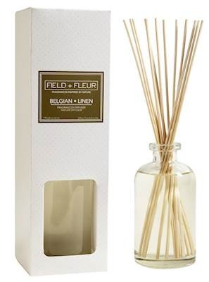 BELGIAN+LINEN Field + Fleur Reed Diffuser 8 oz by Hillhouse Naturals