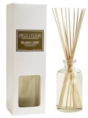 BELGIAN+LINEN Field + Fleur Reed Diffuser 8 oz by Hillhouse Naturals by FIELD FLEUR (Image #1)