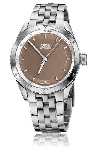 Oris Artix GT Brown Dial Stainless Steel Ladies Watch 01 733 7671 4152-07 8 18 85
