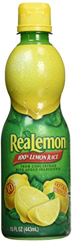 Realemon 100% Lemon Juice, 15 oz