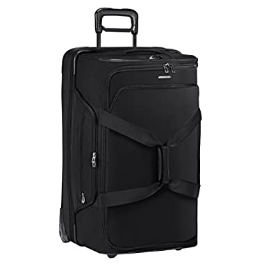 Briggs & Riley Dual Compartment Large Wheeled Duffle, Black, One Size
