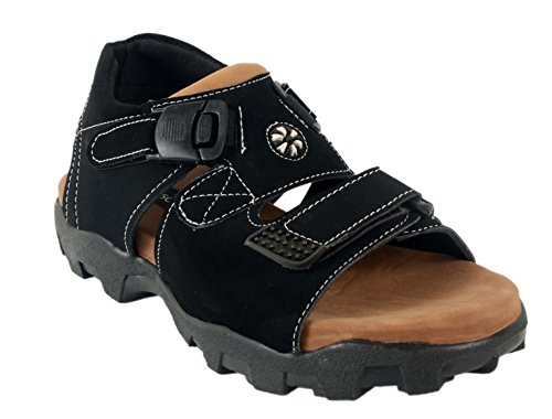 Fucasso Mens Black Sandals-9UK