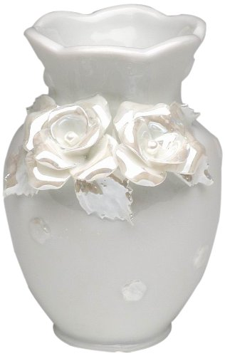 5-1//4-Inch Tall Appletree Design The Perfect Wedding Rose Dove Figurine
