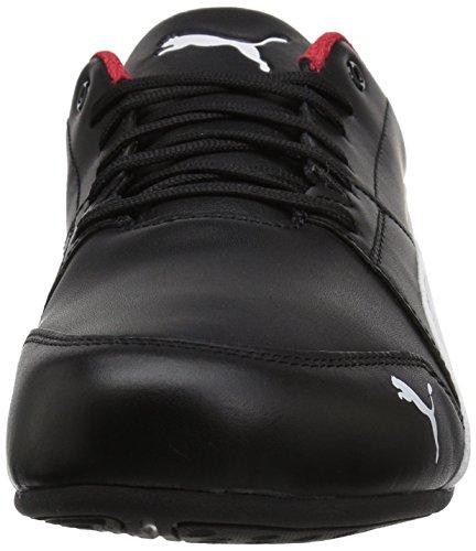 Puma Hombres Ferrari Drift Cat 7 Sneaker Puma Black-puma White-puma Black