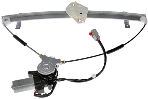 Honda Motors Window - Dorman 741-302 Front Driver Side Power Window Regulator and Motor Assembly for Select Honda Models