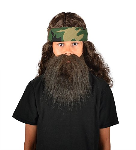 [My Costume Wigs Duck Dynasty Child Phil Discount Set] (Discount Costumes Wigs)
