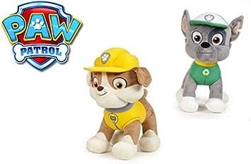 Patrulla canina (Paw Patrol) - Pack 2 unidades Rubble (amarillo ...