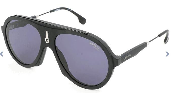 Carrera Flag IR 003 Gafas de Sol, Negro (Matte Black/Grey Bluee), 57 Unisex Adulto