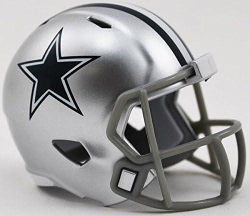 Dallas Cowboys Riddell Speed Pocket Pro Helmet