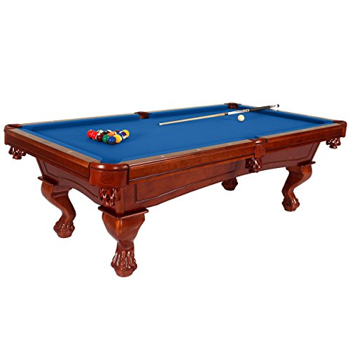 Slate Blue Full Leg - Harvil Bellagio Slate Pool Table 8-Foot with Blue Felt. Includes On-Site Delivery, Professional Installation and Accessories