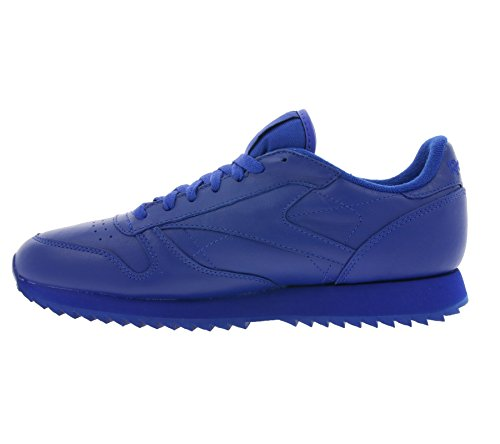 Reebok Classic Leather Ripple M Herren Sneaker blau