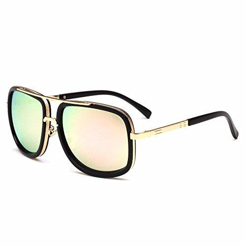 de gafas Sapo Los gafas moda de Aoligei hombres gafas A sol Metal sol virola de RnC0ddqI7w