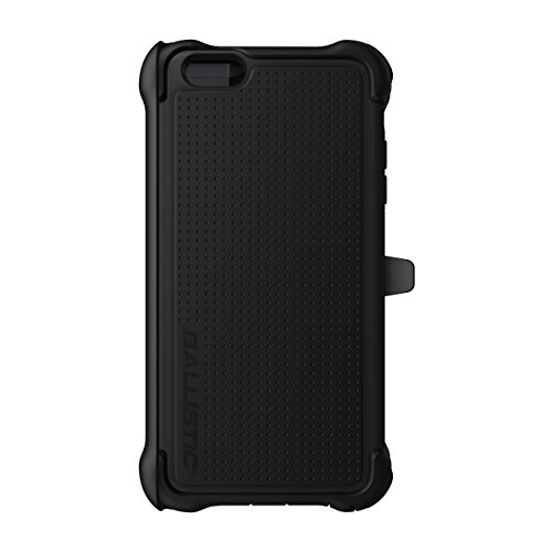 Ballistic TX1429A06C Tough Jacket Maxx iPhone 6 Plus / 6S Plus ONLY Case and Holster with Clip Black on Black -retail packaging