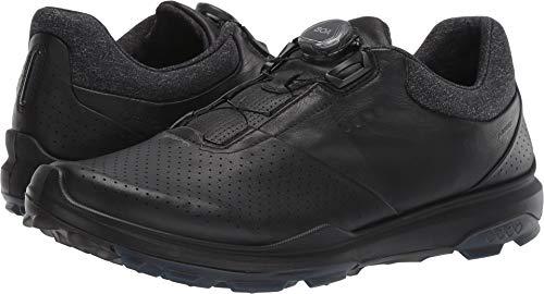 ECCO Men's Biom Hybrid 3 Boa Gore-Tex Golf Shoe, Black Yak Leather, 11 M US