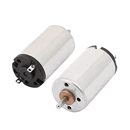 DealMux 2pcs DC 1.25-3.7V 22000RPM Micro DC Motor para remoto Robot Toy Car