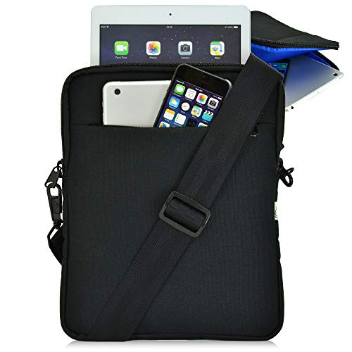 (Turtleback Tablet Bag for iPad Pro and Other Tablets with Shoulder Strap Pouch Bag for Universal Tablets - Fits Devices up to 10.5