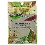Splendor Garden Organic Southwestern rub, 35 Grams