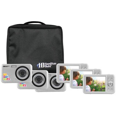 Hamilton Buhl Camera Explorer Kit, Six 12MP Digital Cameras with Flash and 2.7