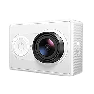 YI Action Camera - Camara Full HD 1080p, 16 MP, WiFi, Bluetooth, Objetivo Ultra Gran Angular de 155 ¡ã Blanco