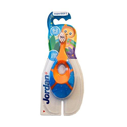 Jordan Step 1 Baby Toothbrush, 0-2 Years, Soft Bristles, BPA Free (4 Pack) by Jordan (Image #3)