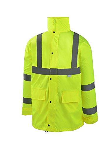 CJ Safety CJHVRJ3001 Visibility Jacket