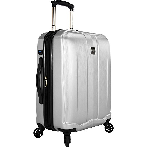 us-traveler-piazza-22-expandable-smart-spinner-luggage-silver