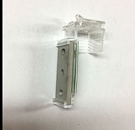 Binari Per Tende A Pacchetto A Vetro.Supporto Antiforatura Per Binari Tecnici Velcrati Per Tende