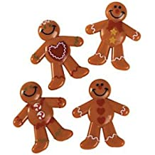 DELUXE HOLIDAY MINI GINGERBREAD MEN (48 Count)