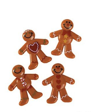 DELUXE HOLIDAY MINI GINGERBREAD MEN (48 - Gingerbread Crafts Kids For
