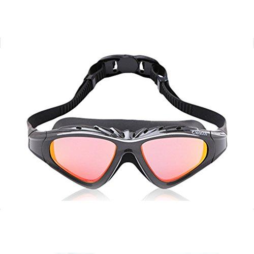 Plano Unisex HD Gafas De Impermeables Natación Gafas QY Niebla De Anti Gray Espejo Natación qtx7PwFY
