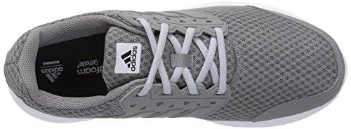 Adidas Mens Galaxy 3 Wide M Scarpa Da Corsa Grigio / Grigio / Grigio Chiaro