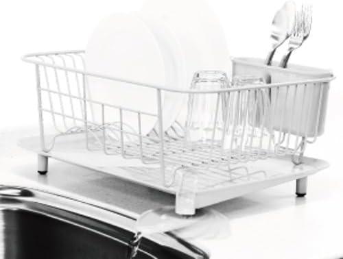 RISU Dish Rack Steel White RISU Japan 16009