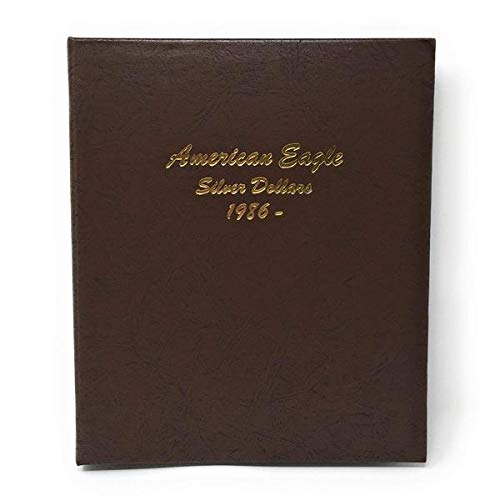 Dansco US American Silver Eagle Coin Album 1986 to for sale  Delivered anywhere in USA
