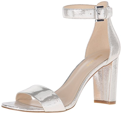 Nora Silver Nine West Women's Dress Sandal wCCUanqO