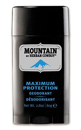 Herban Cowboy Deodorant Mountain – 2.8 oz | Men's Deodorant | No Parabens, No Phthalates, No Aluminum & Certified Vegan
