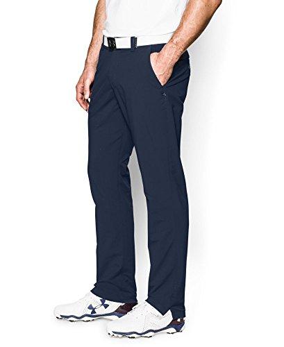 Under Armour Men's Match Play Golf Pants - Tapered Leg, Academy/True Gray Heather, 34/32
