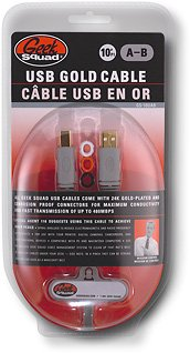 Geek Squad 10' USB 2.0 A/B Cable Model: GS-10UAB A-male to B