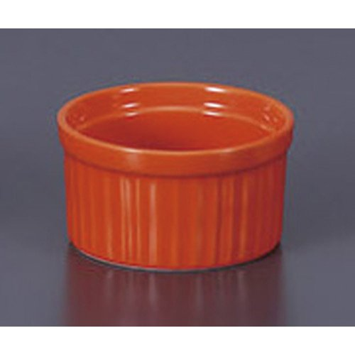 [mkd-791-7-25e] Western-style single item Vivid color Soufl? M (Orange) [9 x 4.9 cm] Ryokan Ryokan Japanese-style machine for eating and drinking establishment by SETOMONOHONPO