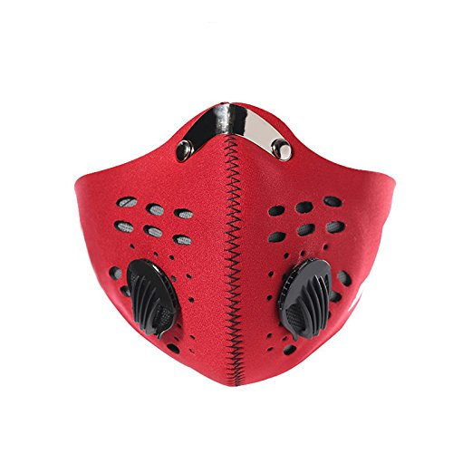 Price comparison product image Auntwhale Bicycle Motorcycle Racing Go Skating Anti Dust Half Face Mask Filter Headwear For MTB BMX Mountain Road Cycling (1Pc)