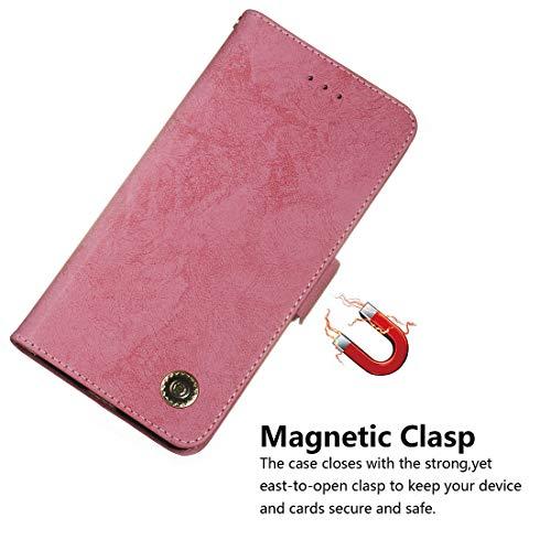 función Galaxy De Cuero Pu Flip Case Cover Magnético Carcasa Lyzwn Incorporado Billetera Para V Cierre 7 S7 Con Soporte Funda Samsung Edge Funda Wallet p5UfT