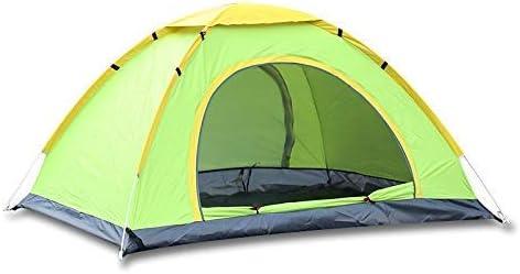 CNOP Leicht Strand-Zelt, Außen Automatische Zelt Geschwindigkeit offenes Schatten Zelt Wildes Fischen-Zelt Regenschutz UV-Schutz-Zelt (Farbe: Grün), Camping und Wandern